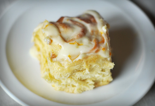 Sticky Lemon Rolls with Lemon Cream Cheese Glaze Recipe on ...
