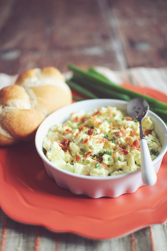 Protein Packed Skinny Egg Salad Recipe on We Heart Recipes