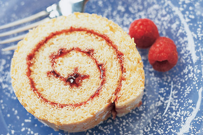 how to make a jam roll cake