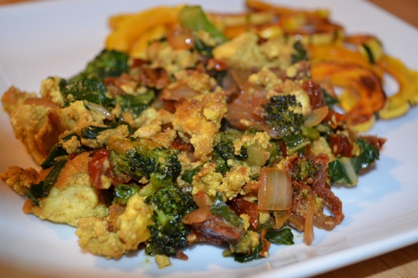 Tofu scramble with spinach and nutritional yeast recipe on we by csk forumfinder Gallery